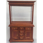 Display Cabinet - Brown