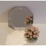 Etched Mirror - Octagonal 2