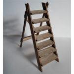 Folding Ladder - Rustic