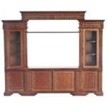 Wall Cabinet Walnut Platinum Collection P6510