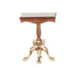 Walnut Figurehead End Table Platinum Collection P7324