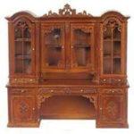 P6435-China-Cabinet-Walnut-Platinum-Collection